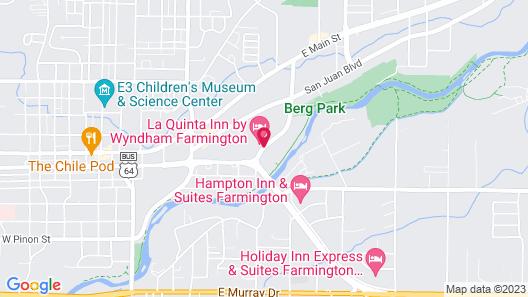 La Quinta Inn by Wyndham Farmington Map