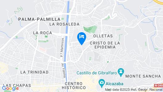 Enjoy Malaga Salesianos Map