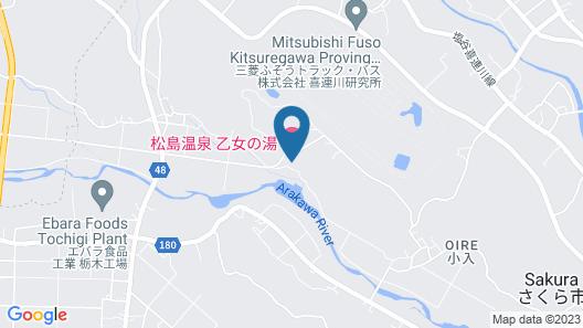 OYO Matsushima Onsen Otome no Yu Map