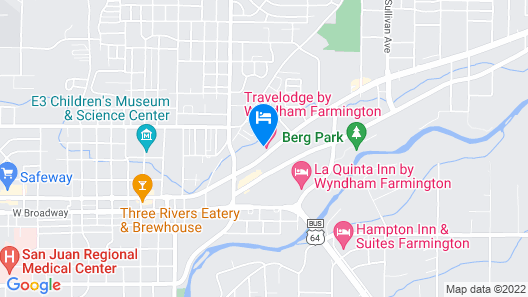 Travelodge by Wyndham Farmington Map