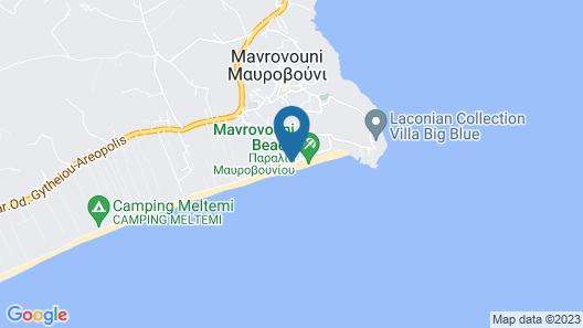 Thirides Beach Resort Map