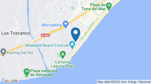 BQ Andalucia Beach Hotel Map