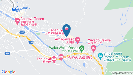 Iyashi No Yu Kadoya Map