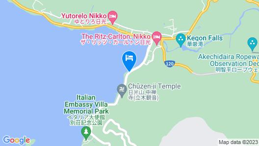 Minshuku Okajin Map