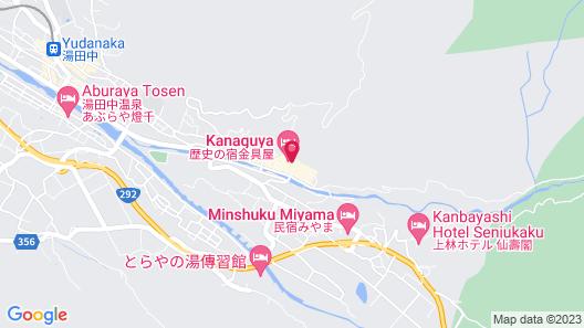 Shibu Onsen Ichinoyu Katei Map