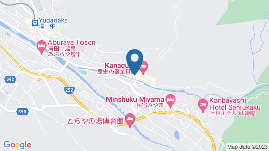 Shibu Onsen Sakaeya Map