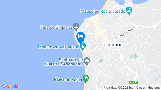 Hotel Playa De Regla Map