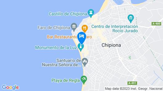 Hotel Agaró Map