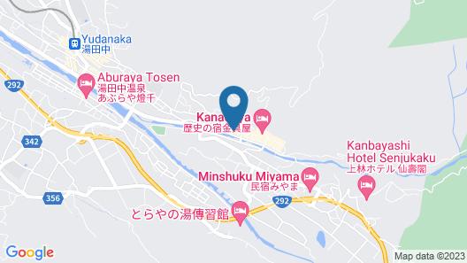 Koishiya Ryokan Map