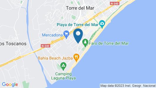 Hotel Mainake Map