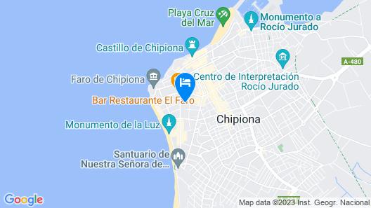 Chipiona Map