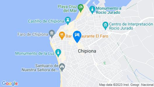 Hotel Paquita Map