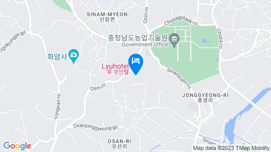 Yesan Ryu Hotel Map