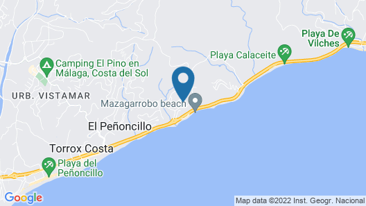 Olée Nerja Holiday Rentals By Fuerte Group Map