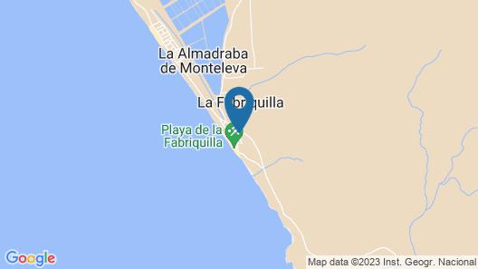 Triplex en La Fabriquilla Map