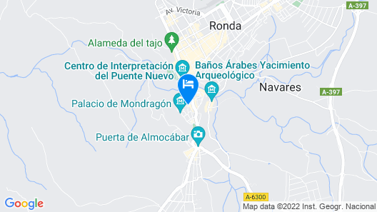 Soho Boutique Palacio San Gabriel Map