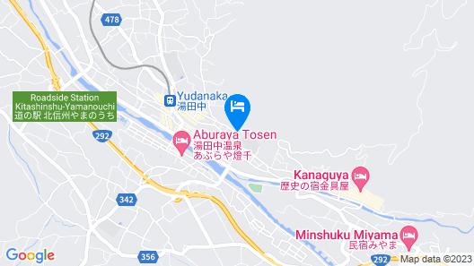 Maruka Ryokan Map