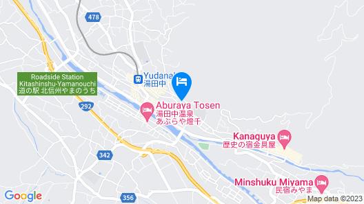 Yorozuya Annex Yurakuan Map