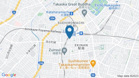 Maidohaya Fukutatei Map