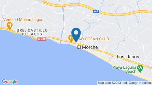 URBAN BEACH TORROX COSTA Map