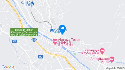 Kamei no Yu Map