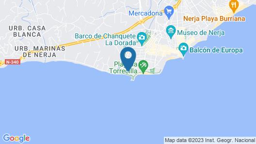 Hotel Sercotel Perla Marina Map