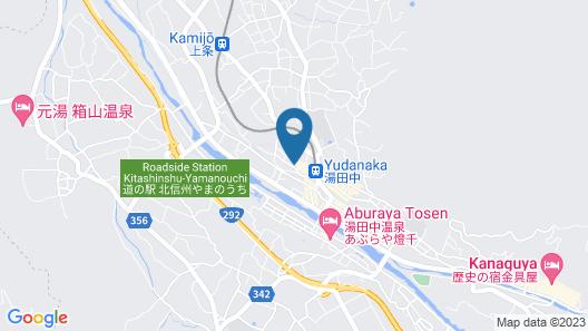 Yudanaka Seifuso Map