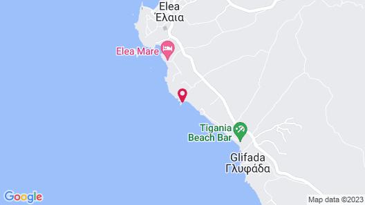 Finisia House - Elea Lakonias Map