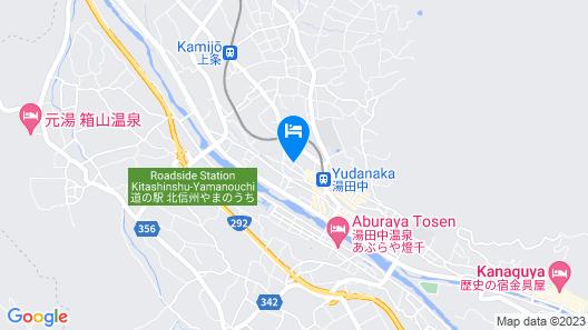 Hotel Yudanaka Map