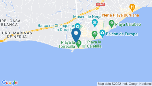 Hotel Riu Monica - Adults Only Map