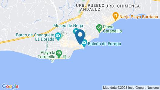 Toboso Apar-Turis Map