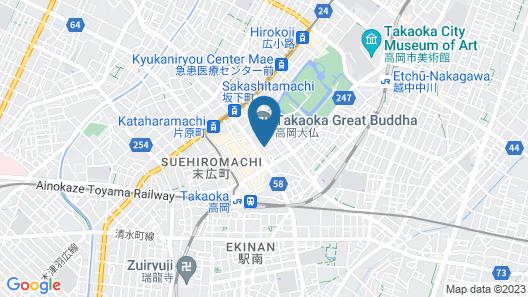 Daibutsu Ryokan Map