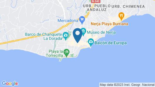Apartamentos El Barrio Map