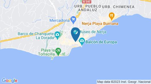 Plaza Cavana Map