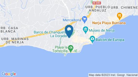 Stella Maris Nerja Map