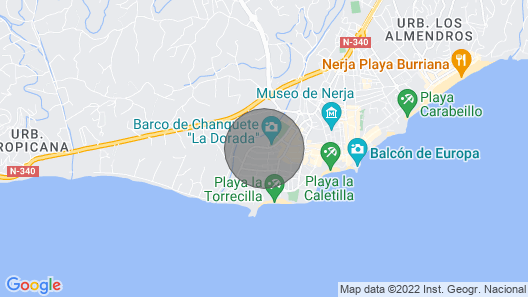 Nerja Apartment, Sleeps 4 With Air Con and Wifi Map