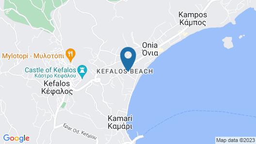 Kamari Bay Hotel Map