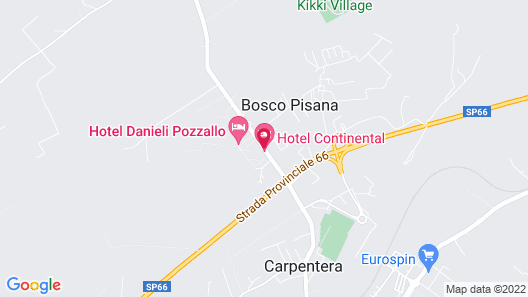 Hotel Continental Map