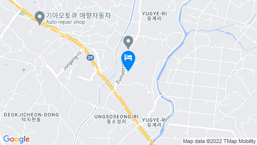 Seosan Ace Driving Self Check-in Motel Map