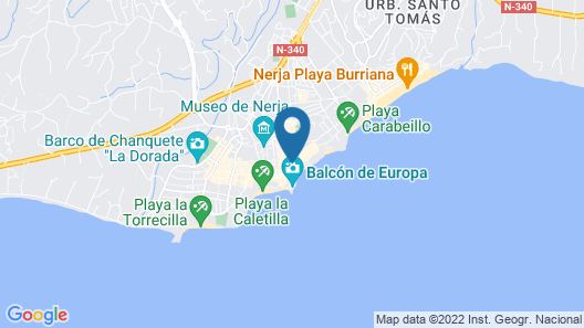 Villa Carabeo Map