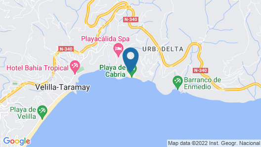 Casa Mariana Map