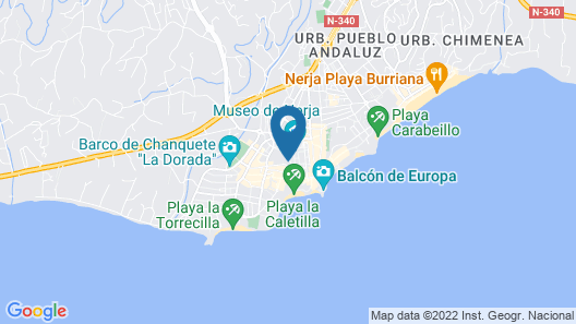 Nerja Casual Rooms Map
