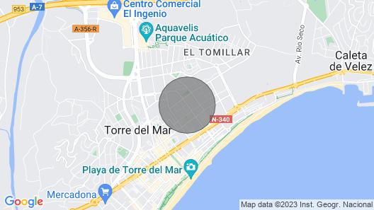 Apartamentos Terrasol Azucarera Gran Atico Map