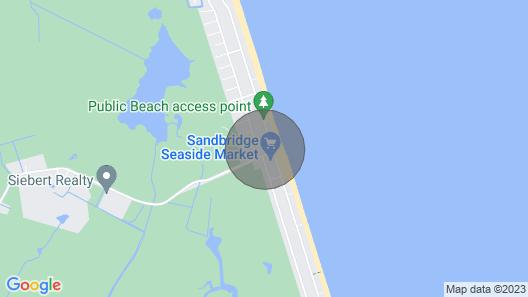 Sandbridge Beach,Virginia Beach Penthouse Condominum Map