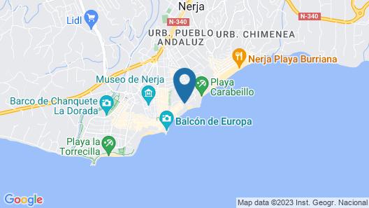 Apartamento Carabeo 70 Map