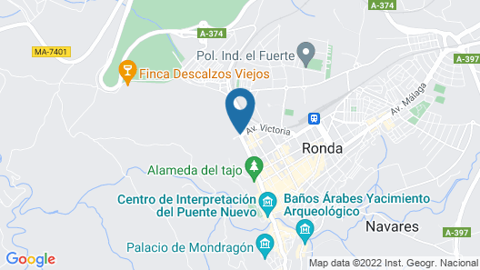 Catalonia Reina Victoria Map