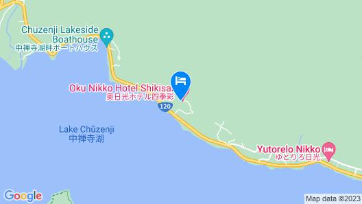 Okunikko Hotel Shikisai Map
