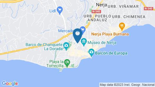 Hotel Bajamar Map