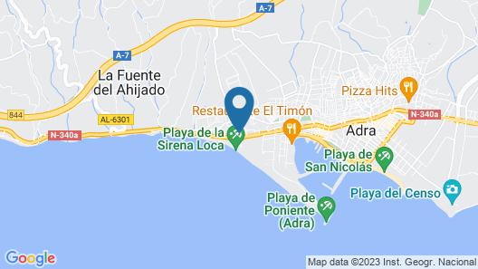 Hotel Mirador de Adra Map