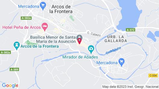 Parador De Arcos De La Frontera Map